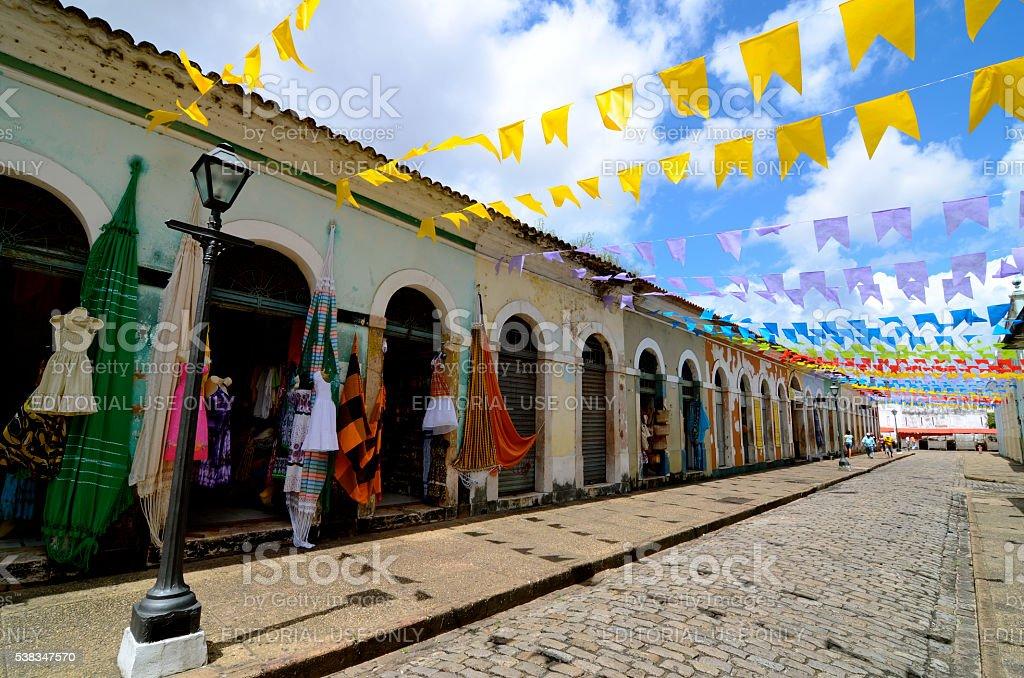 São Luís do Maranhão Brazil stock photo