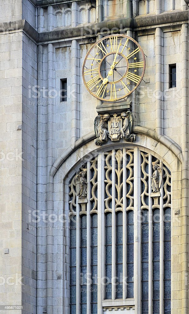 S?o Paulo, Brazil: Monastery of St. Benedict - abbey basilica royalty-free stock photo