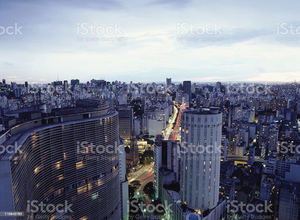 São Paulo city, Brazil royalty-free stock photo
