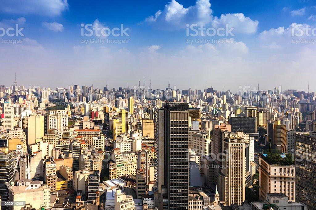 São Paulo City stock photo