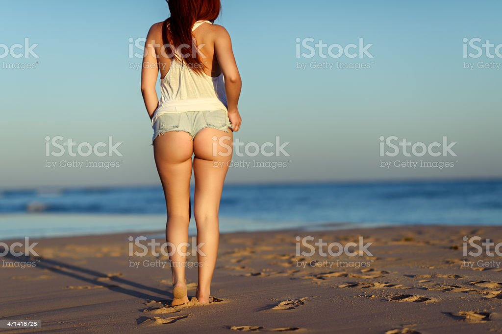 so sexy on the beach stock photo
