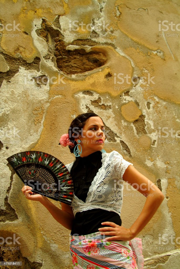 Asi tan agustito royalty-free stock photo