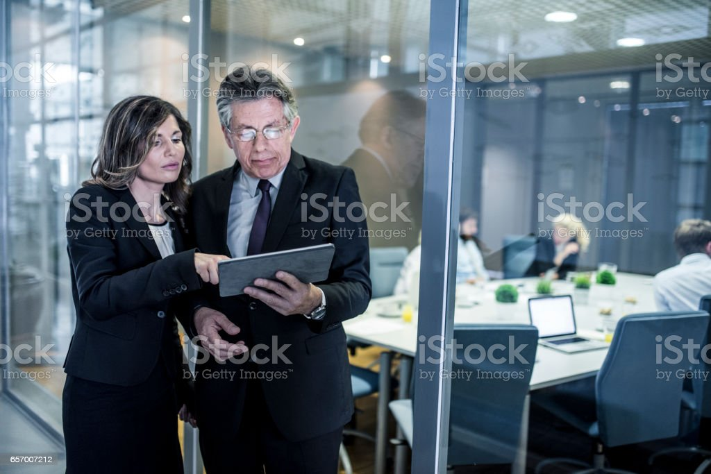 So then we decided to send them this proposal stock photo