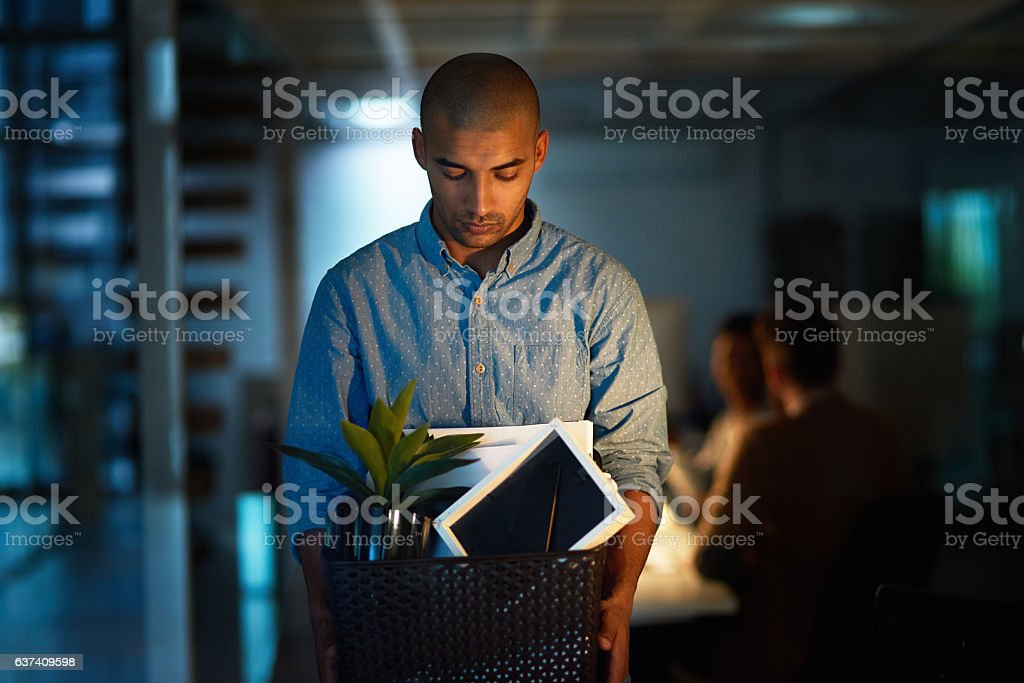 So this is the end then... stock photo