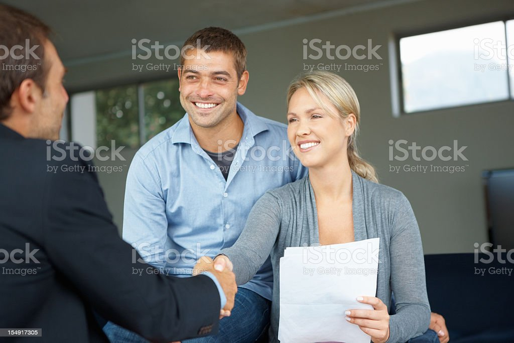 So, we have a deal stock photo