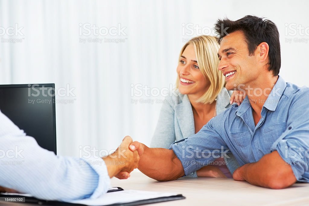 So, we have a deal royalty-free stock photo