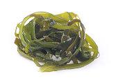 soaked wakame seaweed
