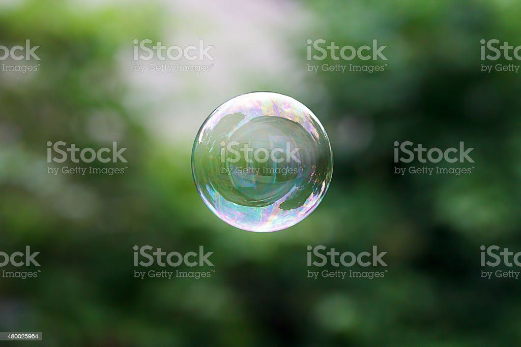 Soap ball stock photo