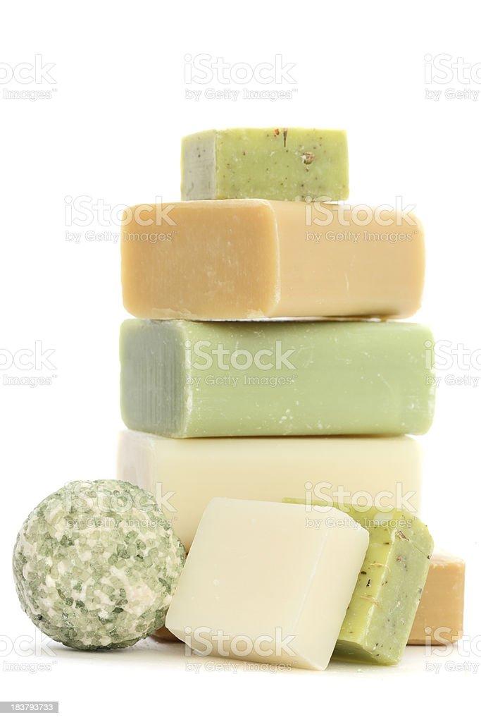 Soap Bars stock photo