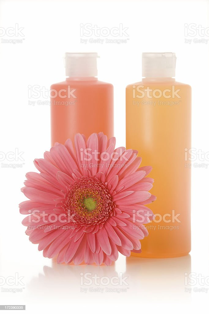 Soap Bottles royalty-free stock photo