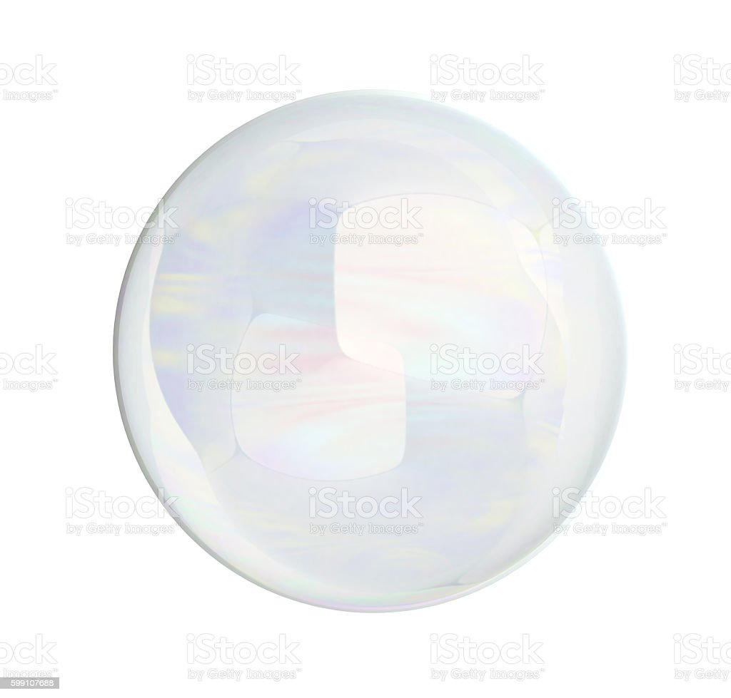 soap bubble blower 3d render isolated on white background stock photo