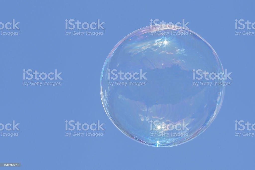 Soap bubble royalty-free stock photo