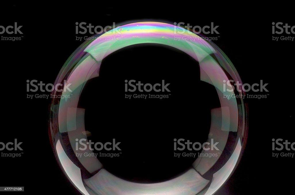 Soap Bubble Surface stock photo