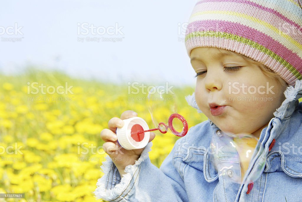 soap bubbles royalty-free stock photo