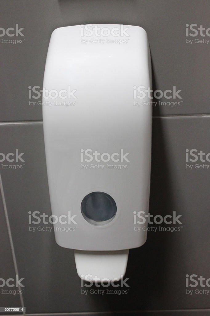 Soap dispanser stock photo