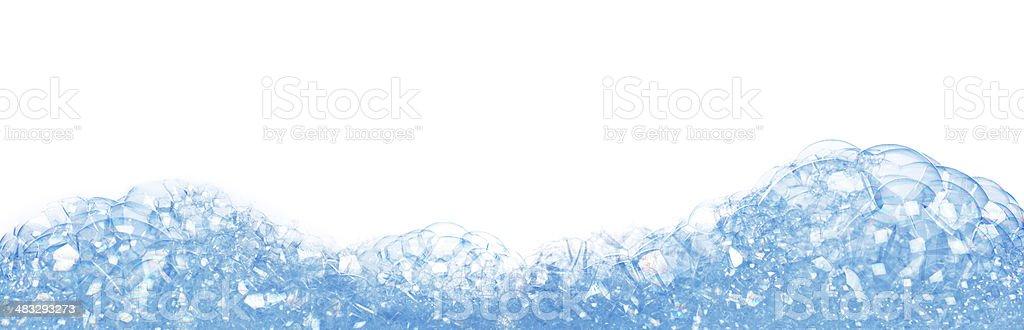 soap foam stock photo