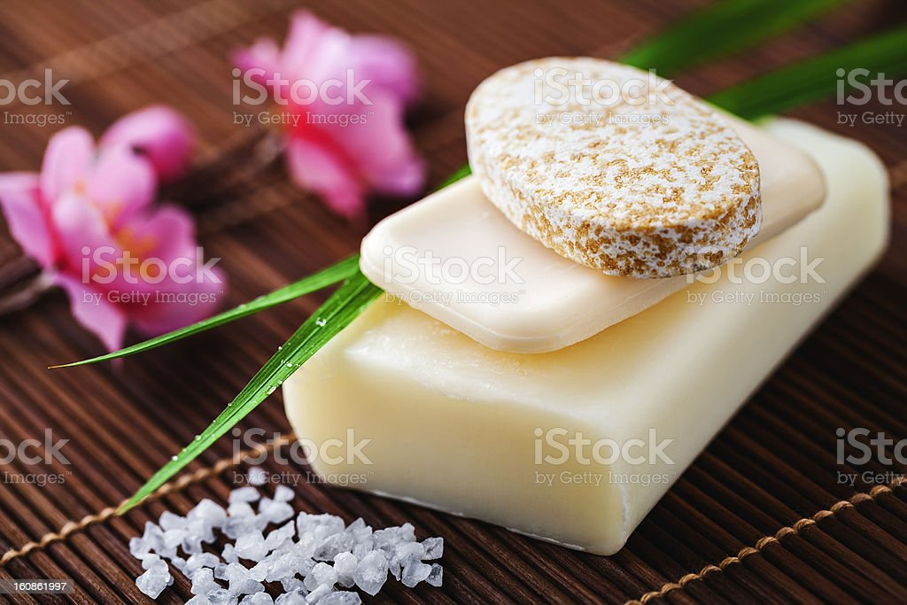soap for bathroom stock photo
