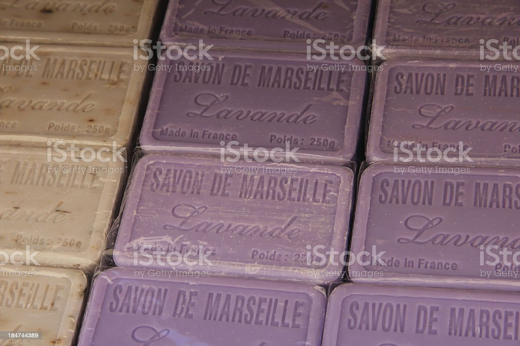 Soap From Marseille royalty-free stock photo