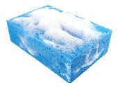 Soapy bath sponge