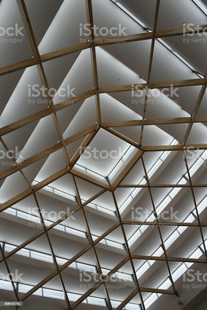 Soaring Ceiling royalty-free stock photo
