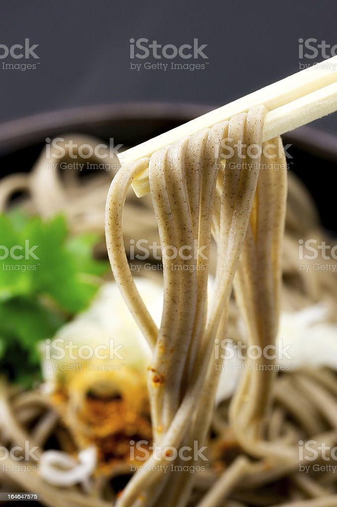 Soba royalty-free stock photo
