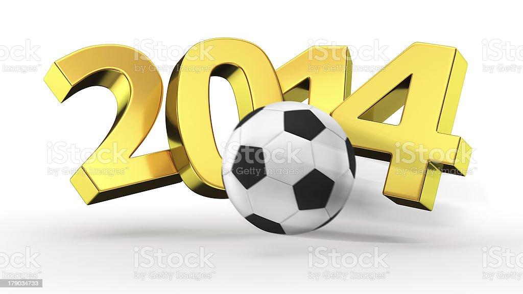 Soccer 2014 royalty-free stock photo