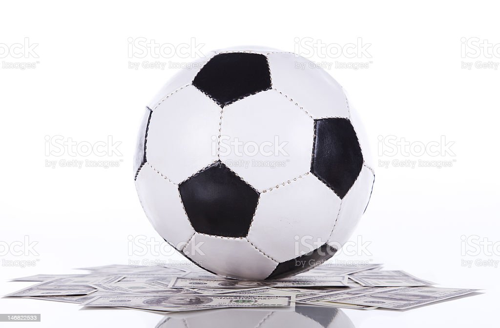 Soccer a rich sport royalty-free stock photo