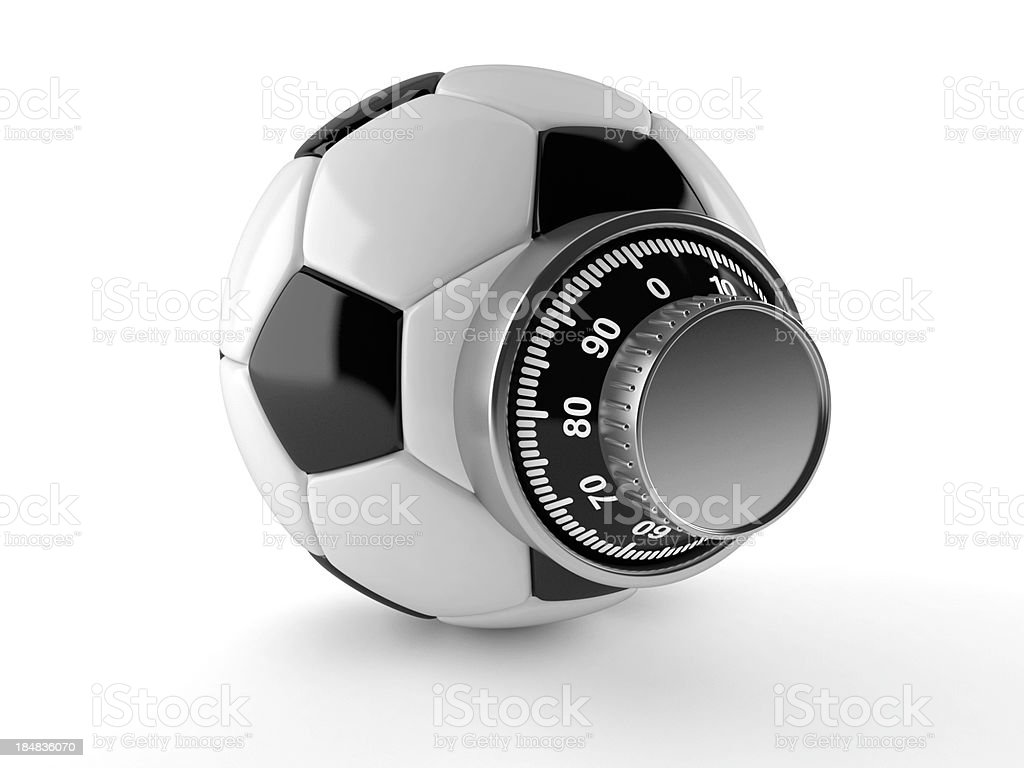 Soccer access royalty-free stock photo