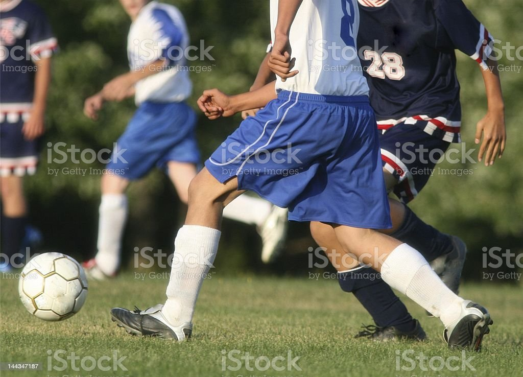 Soccer Action royalty-free stock photo