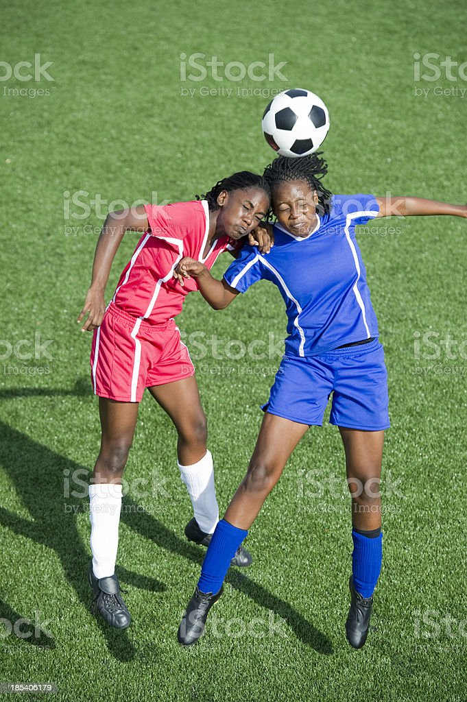 Soccer Action stock photo