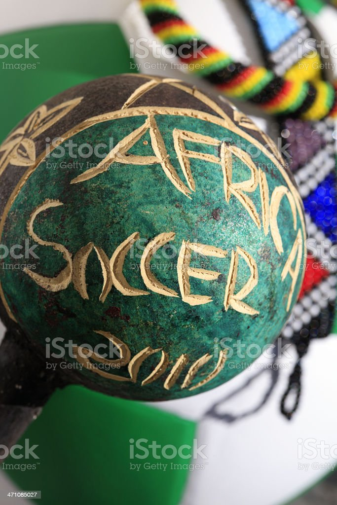 Soccer Africa 2010 royalty-free stock photo