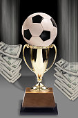 Soccer and Money.
