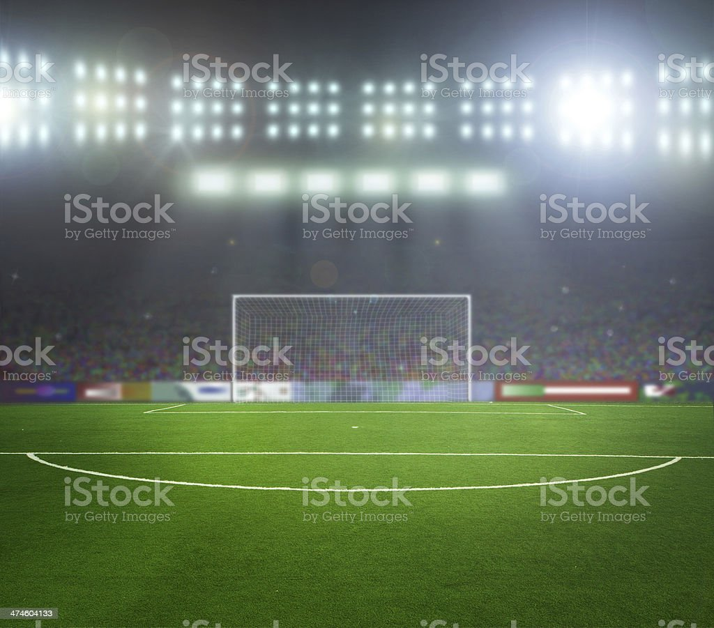 Soccer bal.football, royalty-free stock photo