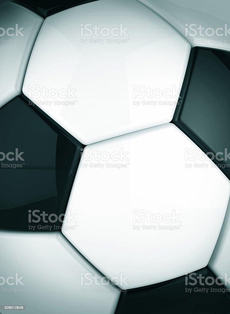 Soccer ball background stock photo