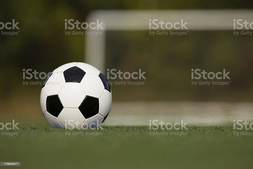 soccer ball close up royalty-free stock photo