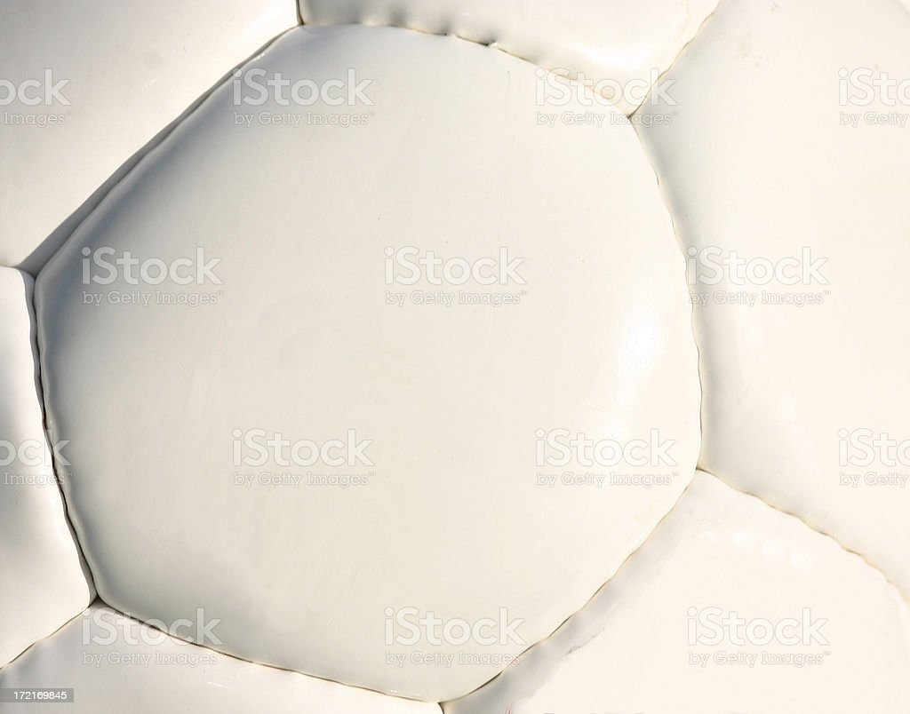 Soccer Ball - Macro royalty-free stock photo