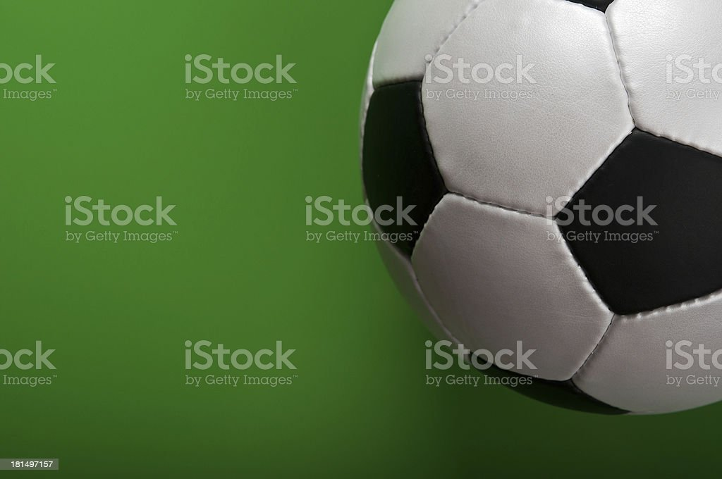 soccer ball on royalty-free stock photo