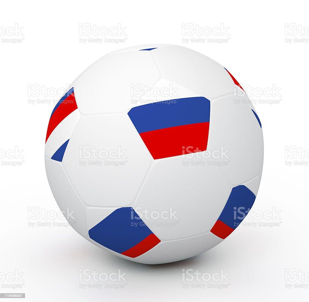 Soccer Ball (3D Illustration) royalty-free stock photo