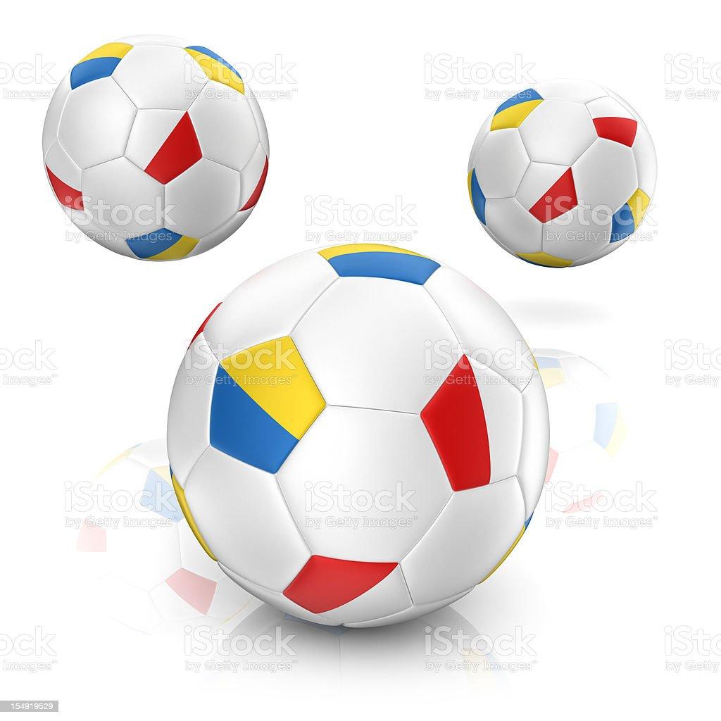 EURO 2012 - Soccer Ball stock photo