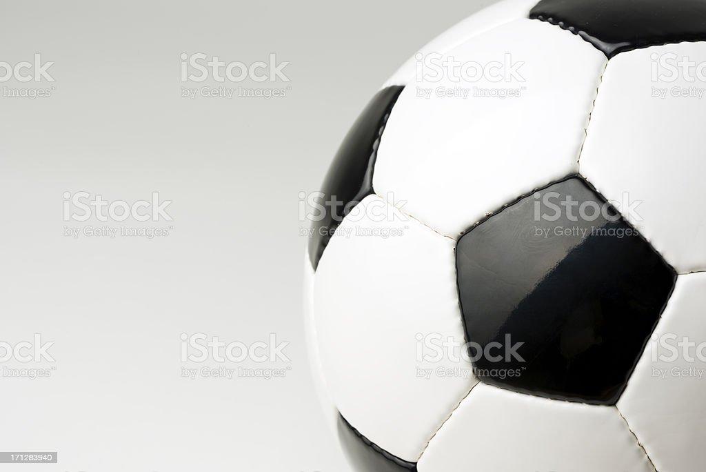 Soccer ball, studio shot royalty-free stock photo