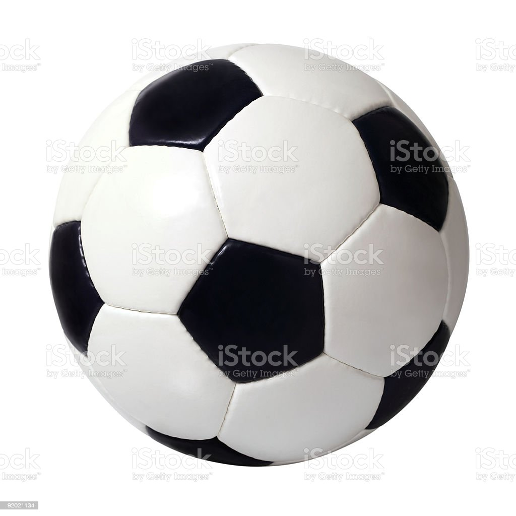 Soccer ball XL stock photo