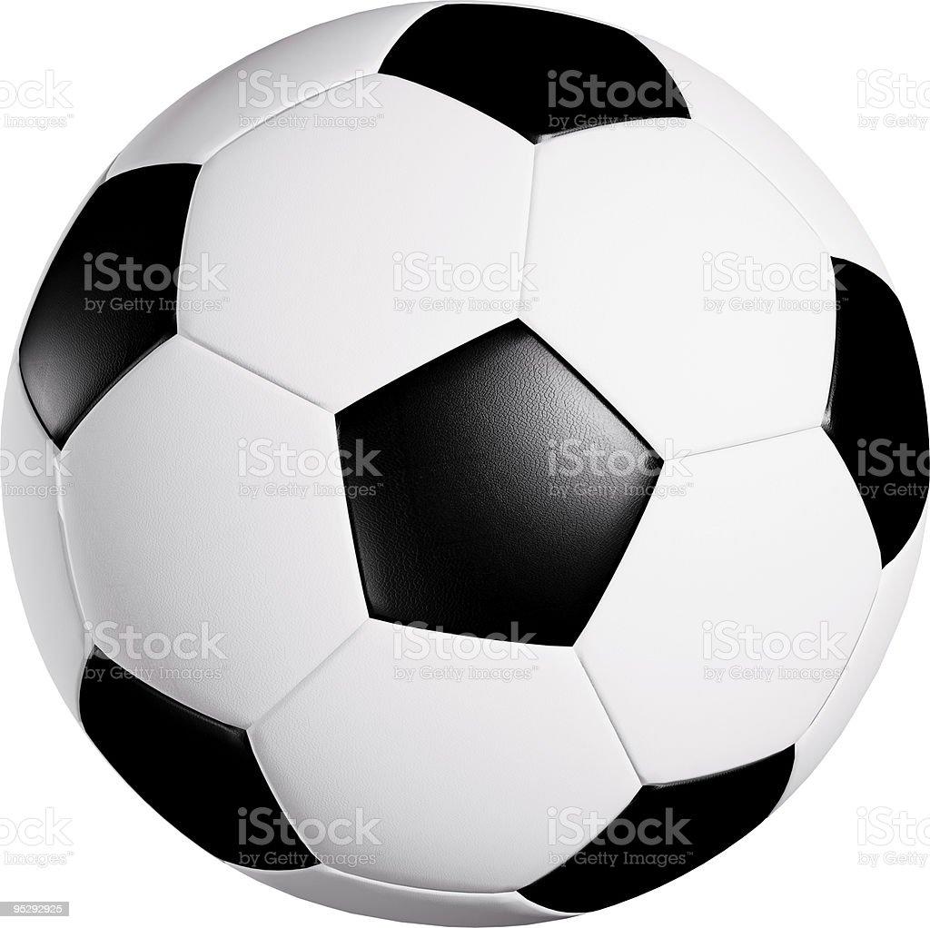 Soccer ball XXXL royalty-free stock photo
