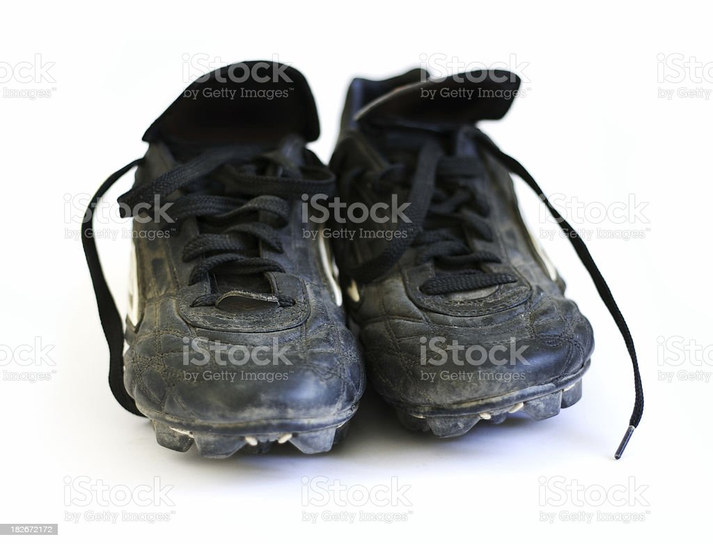 Soccer boots 2 stock photo