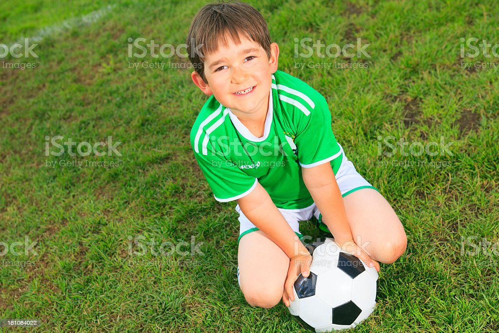 Soccer - Boy royalty-free stock photo