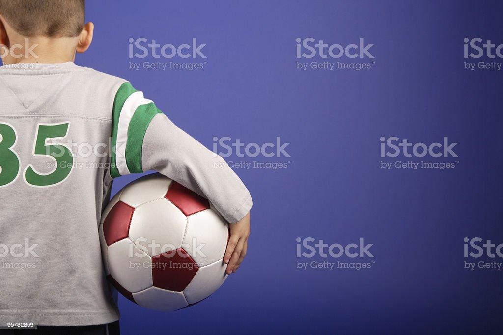 Soccer boy royalty-free stock photo