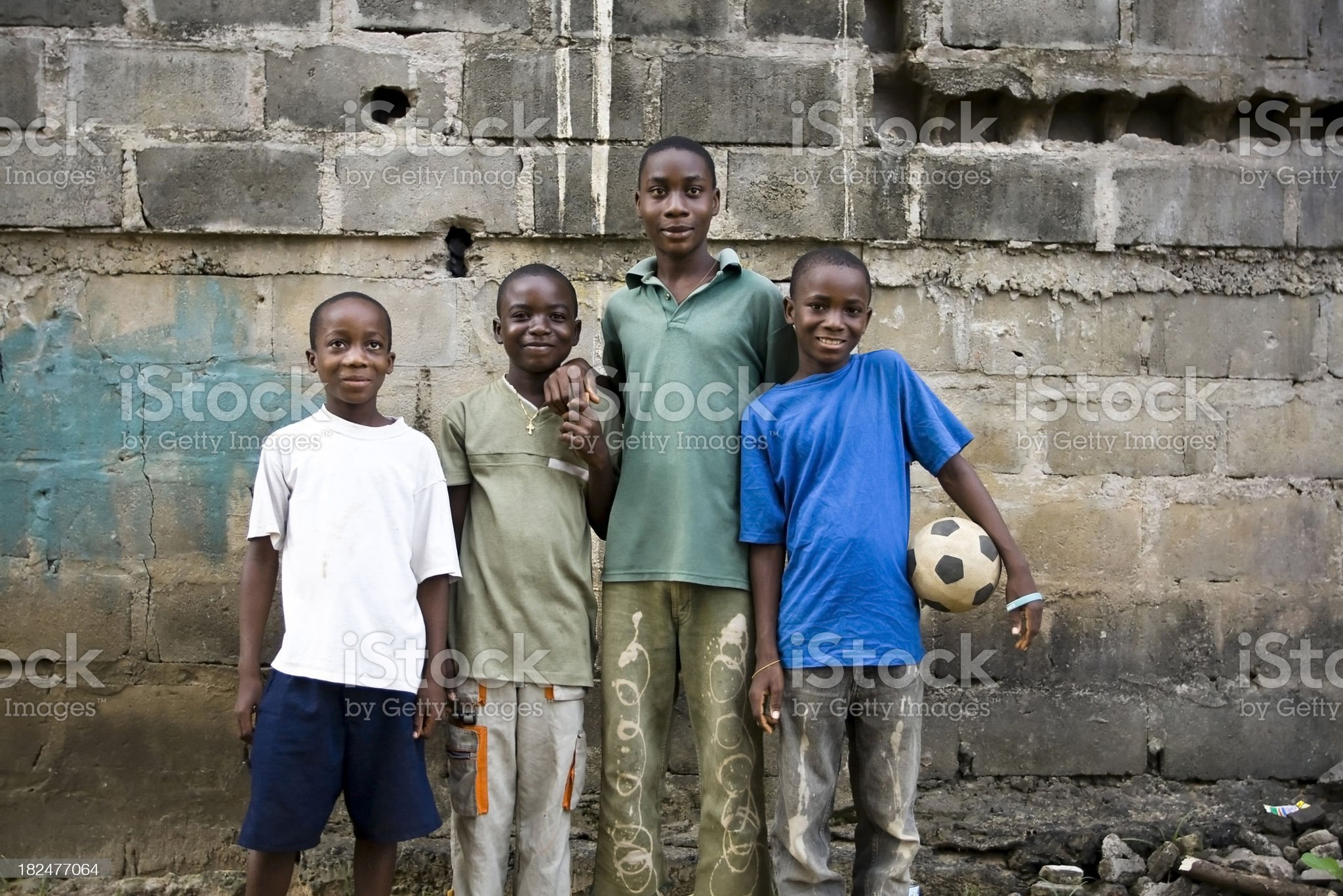 Soccer Boys royalty-free stock photo