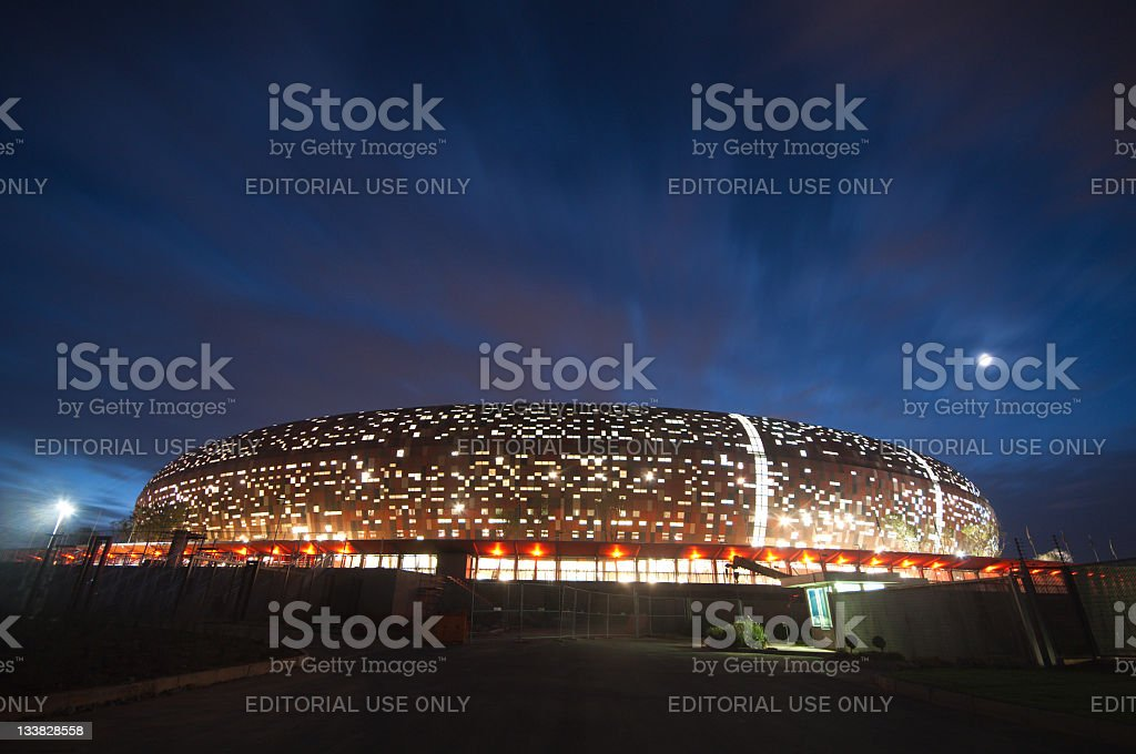 Soccer City,johannesburg stock photo