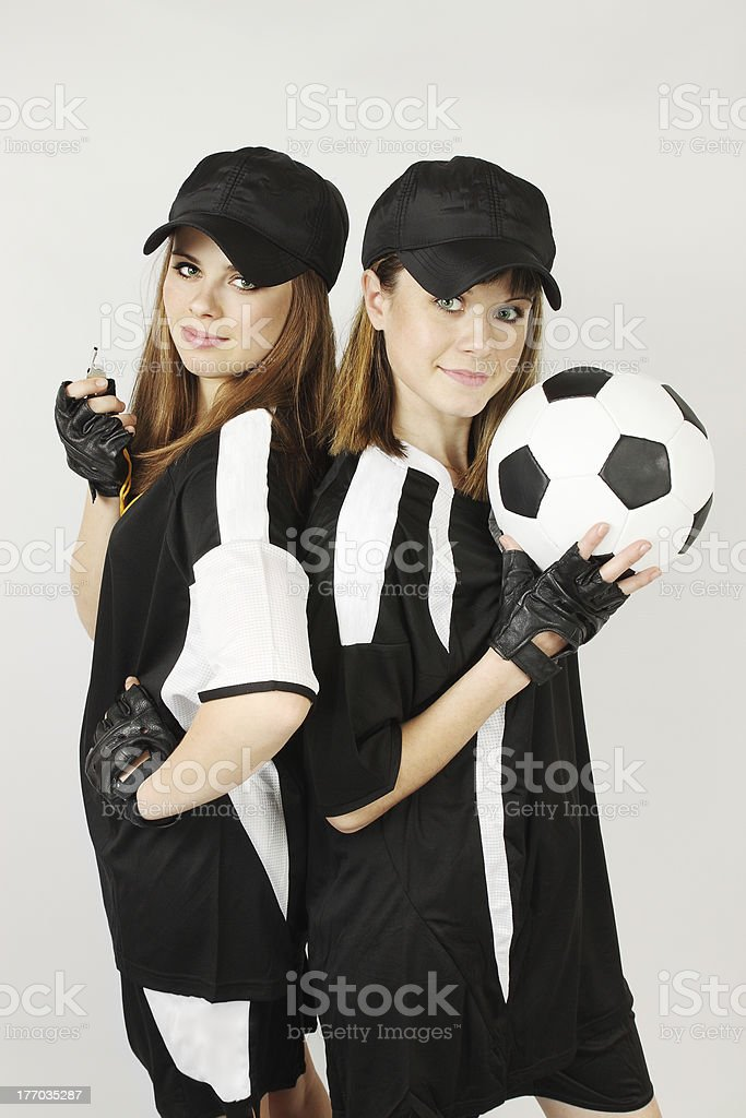 soccer coaches royalty-free stock photo