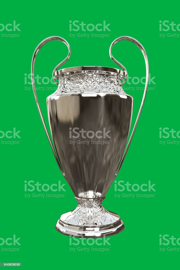 soccer cup stock photo