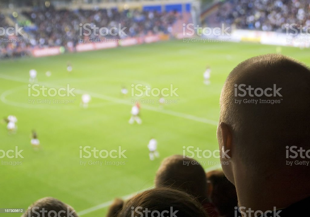 Soccer day royalty-free stock photo